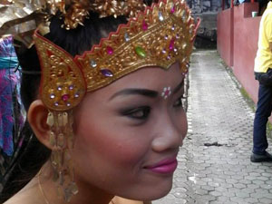 Na Bali máme krásné ženy